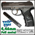 PISTOLET WIATRÓWKA CO2 W3000 FM, HK-P3000 WINGUN 4,5 mm