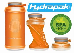 BUTELKA BIDON KOMPRESYJNY HYDRAPAK STASH ™ 1L MOJAVE ORANGE