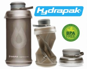 BUTELKA BIDON KOMPRESYJNY HYDRAPAK STASH ™ 750ml MAMMOTH GREY