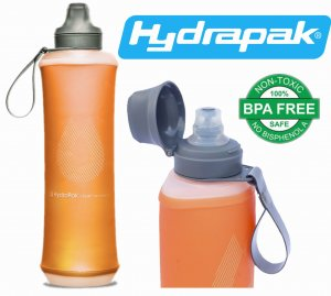 BUTELKA BIDON KOMPRESYJNY HYDRAPAK CRUSH 750ml MOJAVE ORANGE