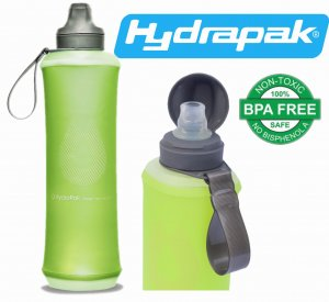 BUTELKA BIDON KOMPRESYJNY HYDRAPAK CRUSH 750ml SEQUOLA GREEN