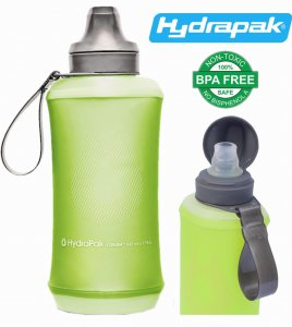 BUTELKA BIDON KOMPRESYJNY HYDRAPAK CRUSH 500ml SEQUOLA GREEN