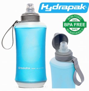 BUTELKA BIDON KOMPRESYJNY HYDRAPAK CRUSH 500ml MALIBU BLUE