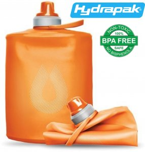 BUTELKA BIDON KOMPRESYJNY HYDRAPAK STOW ™ 500ml MOJAVE ORANGE