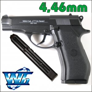 PISTOLET WIATRÓWKA CO2 4,5mm BERETTA M84 FULL METAL WINGUN
