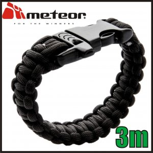METEOR BRANSOLETKA SURVIVALOWA PARACORD 3 METRY