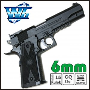 PISTOLET GAZOWY ASG 6mm CO2 FIREARM 304 WINGUN